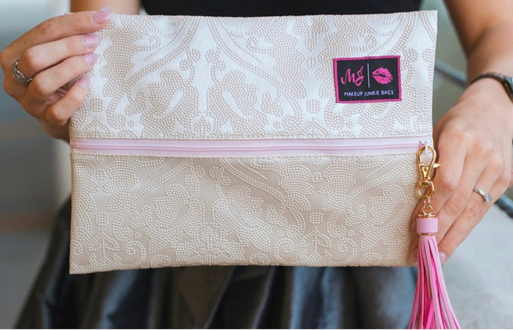 Bridal Makeup Junkie Bag - Bellamie Boutique