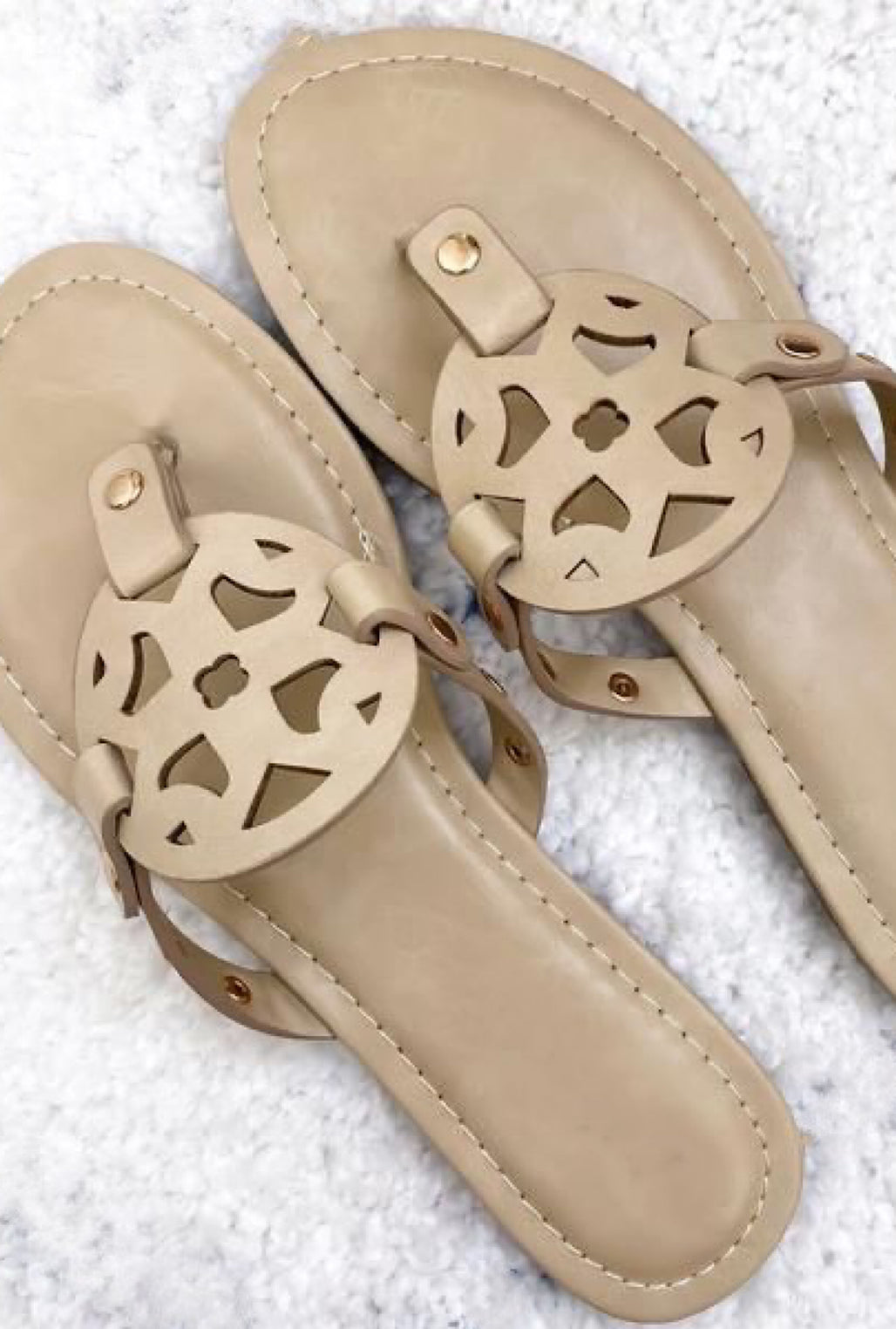 Always Right Sandals-Tan - Bellamie Boutique