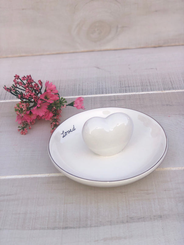 Heart Ring Dish - Bellamie Boutique