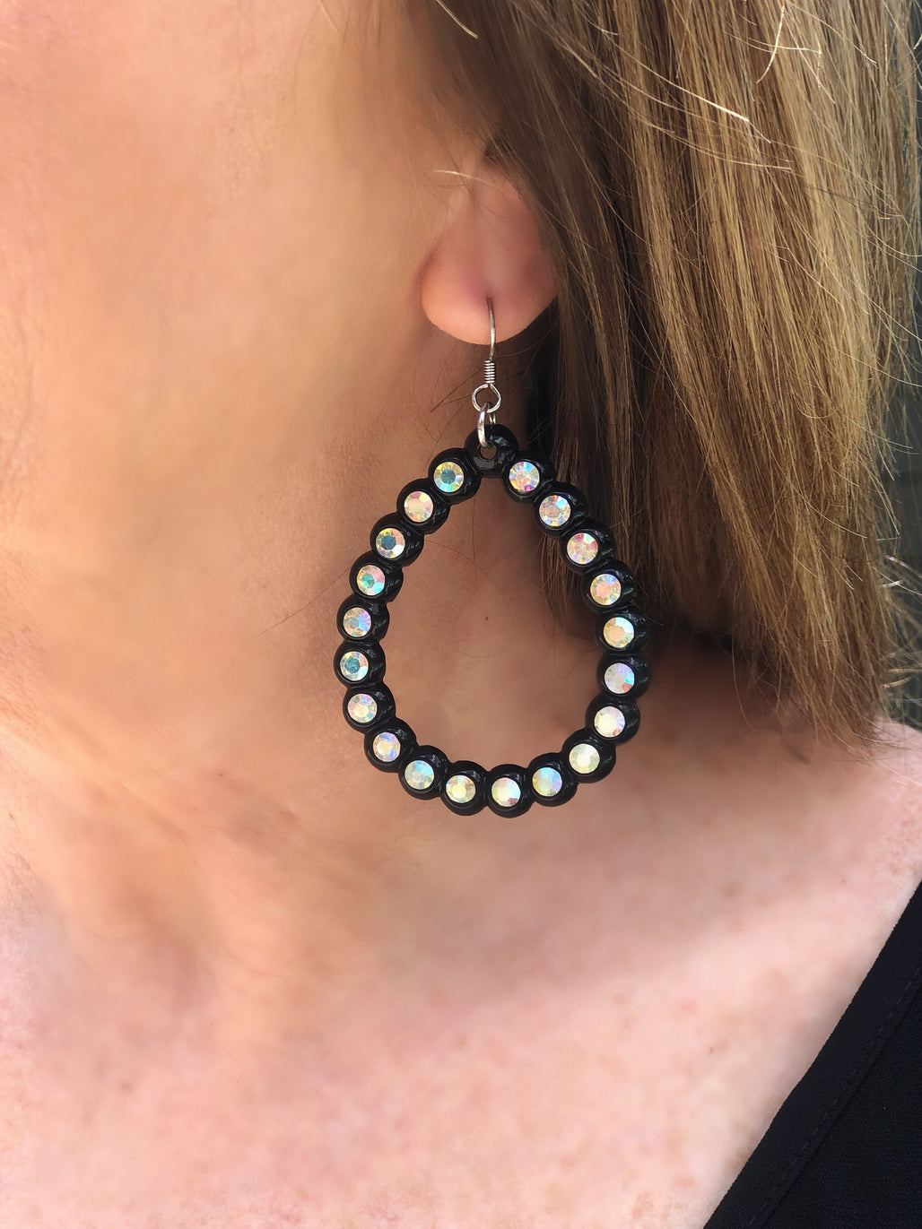 Black Statement Earrings - Bellamie Boutique