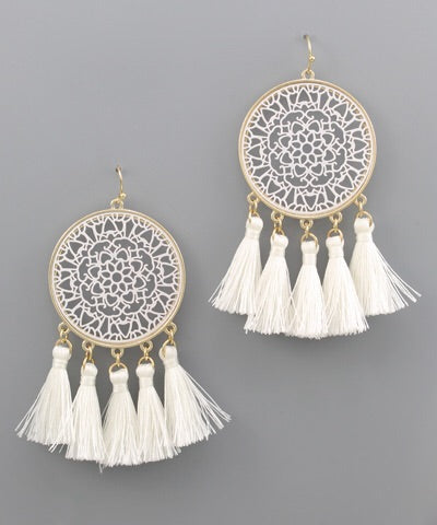 Dream Catcher Earrings - Bellamie Boutique