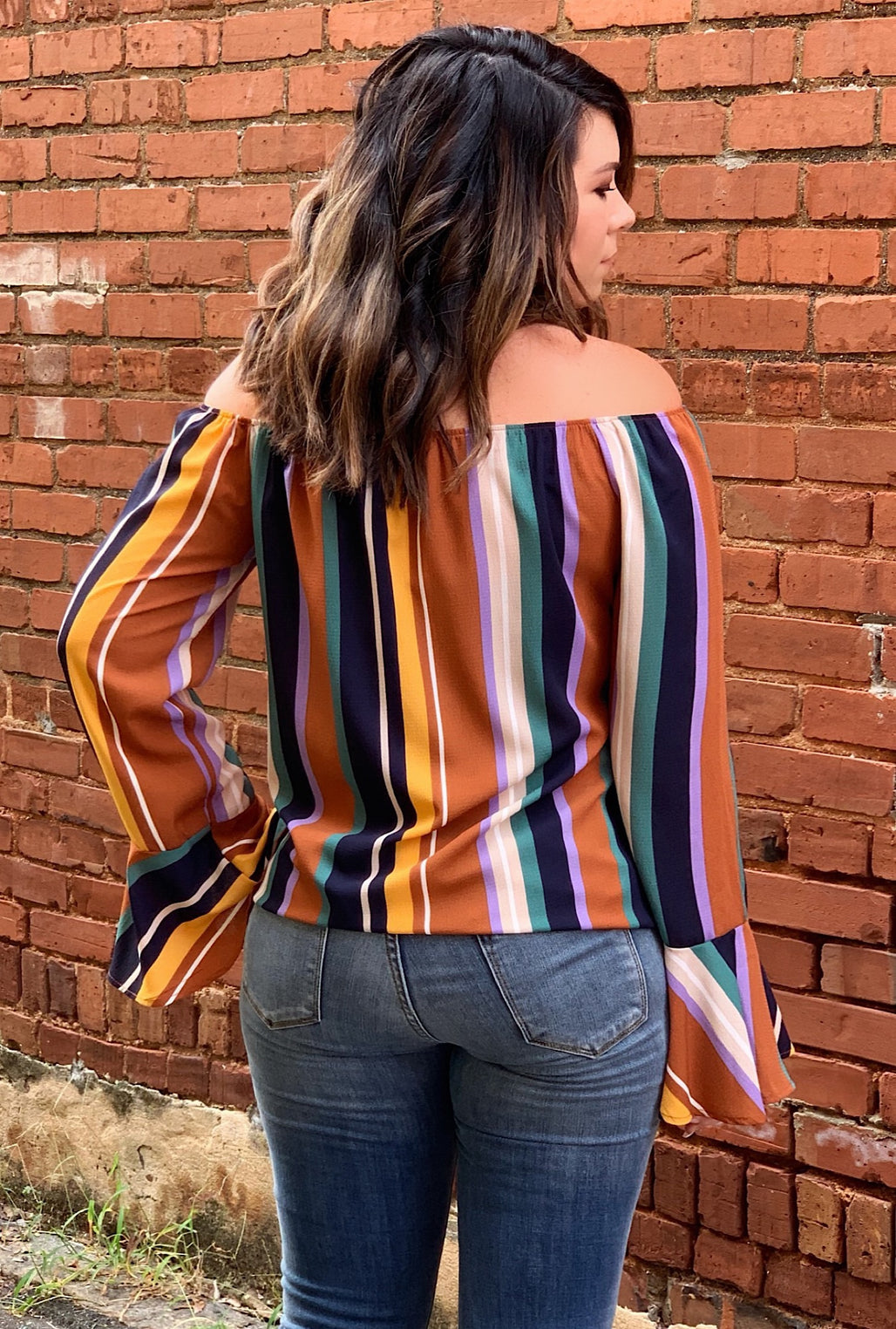 Sydney Striped Top - Bellamie Boutique