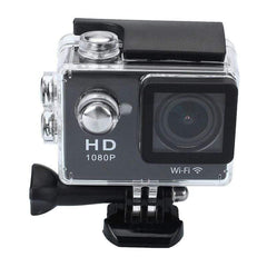 Sj6000 Waterproof Sport 1080 P Video Helmet Camera Black Mini-ACTION CAMERAS-DEVICES-black-Helm Zone
