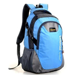 Chansin X0057 Travel Backpacks-BACKPACKS-RUCKSACKS-BAGS-Sky Blue-Helm Zone
