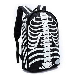 Yesetn Skeleton Travel Backpacks-BACKPACKS-RUCKSACKS-BAGS-Black-Helm Zone