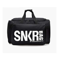 Multi-Functional Fitness Bag Gym Bag Large Capacity Duffel Bag-DUFFLE BAGS-BAGS-Black-Helm Zone