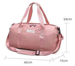 Waterproof Ultralight Women Fitness Duffle Bag Yoga Training-DUFFLE BAGS-BAGS-Helm Zone