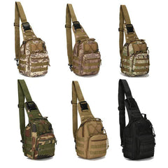 Facecozy Outdoor Sports Military Bag Climbing Shoulder Tactical Hiking-MASSENGER BAGS-BAGS-Helm Zone