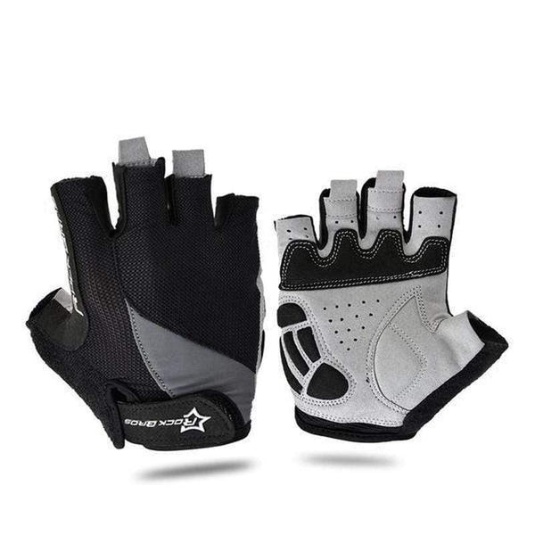 Rockbros S030, S037 Bicycle Gloves-MTB GLOVES-MTB-Black 2-L-Helm Zone
