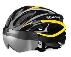 COOLCHANGE 19020 WINDPROOF MTB HELMETS WITH LENSES-MTB HELMETS-MTB-Helm Zone