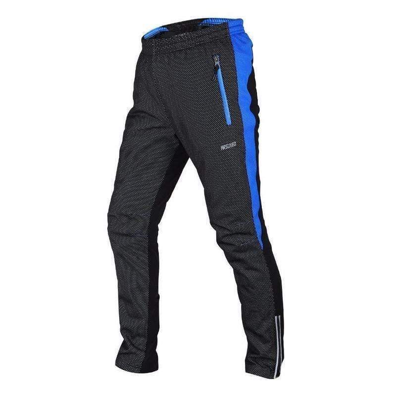 Arsuxeo 14 Aa Thermal Fleece Winter Cycling Pants for Men-MTB PANTS-MTB-Helm Zone