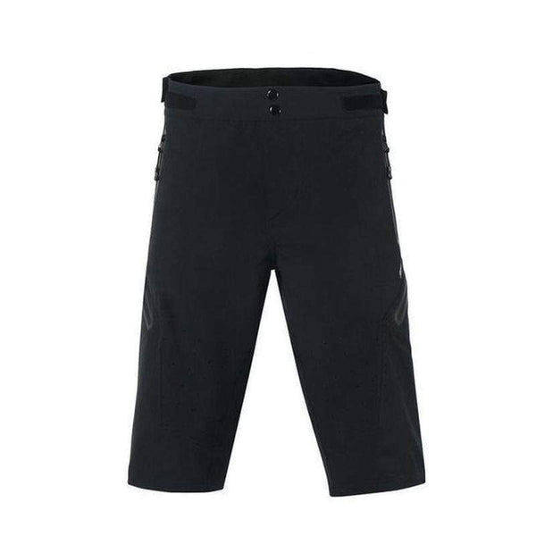 Arsuxeo Ao-1202/3 Quick Dry Mtb Shorts for Men-MTB SHORTS-MTB-3 Black-XL-Helm Zone