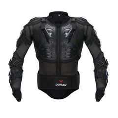 Duhan Dh-04 Motorcycle Upper Body Armor-OFF-ROAD BODY ARMOR-OFF-ROAD-Black-M-Helm Zone