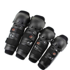 Riding Tribe Hx-P0 Motorcycle Knee Pads-OFF-ROAD BODY ARMOR-OFF-ROAD-Black-Helm Zone