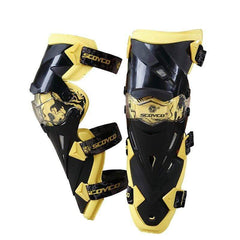 Scoyco K12 Motorcycle Protective Kneepads-OFF-ROAD BODY ARMOR-OFF-ROAD-yellow-Helm Zone