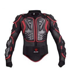 Sulaite Protective Motorcycle Jacket-OFF-ROAD BODY ARMOR-OFF-ROAD-Red-L-Helm Zone