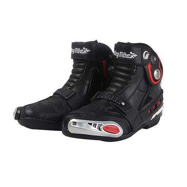 Riding Tribe A009 Off-Road Motorcycle Boots-OFF-ROAD BOOTS-OFF-ROAD-Black-8-Helm Zone