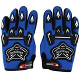 Kniohthood Motorcycle Gloves for Kids-OFF-ROAD GLOVES-OFF-ROAD-Blue-L-Helm Zone