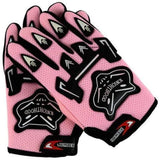 Kniohthood Motorcycle Gloves for Kids-OFF-ROAD GLOVES-OFF-ROAD-Pink-L-Helm Zone