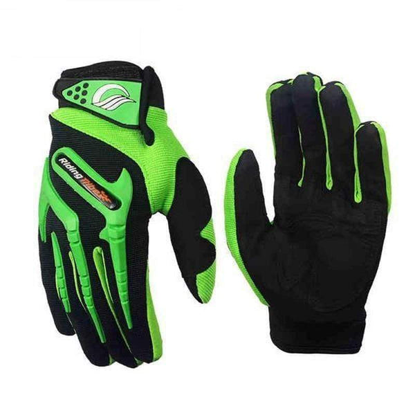 Riding Tribe Ce11 Motorcycle Gloves-OFF-ROAD GLOVES-OFF-ROAD-green-M-Helm Zone