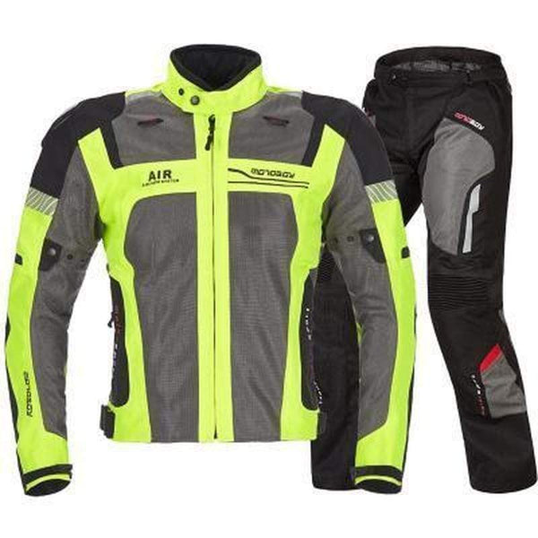 Motoboy Mb15-J01 Motorcycle Suits-OFF-ROAD SUITS-OFF-ROAD-yellow suit-M-Helm Zone