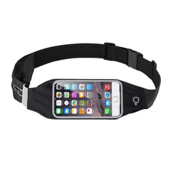 Aolikes Oi7879 Waterproof Phone Holder Running Belt-RUNNING BAGS-BAGS-Black-Helm Zone