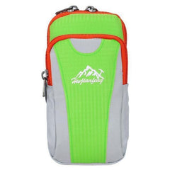 Hw Jianfeng Running Wrist Wallets-RUNNING BAGS-BAGS-Green Color-Helm Zone