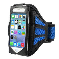 Msfu 2047334 Cell Phone Armbands for Iphone 6 Plus-RUNNING BAGS-BAGS-Blue Color-Helm Zone