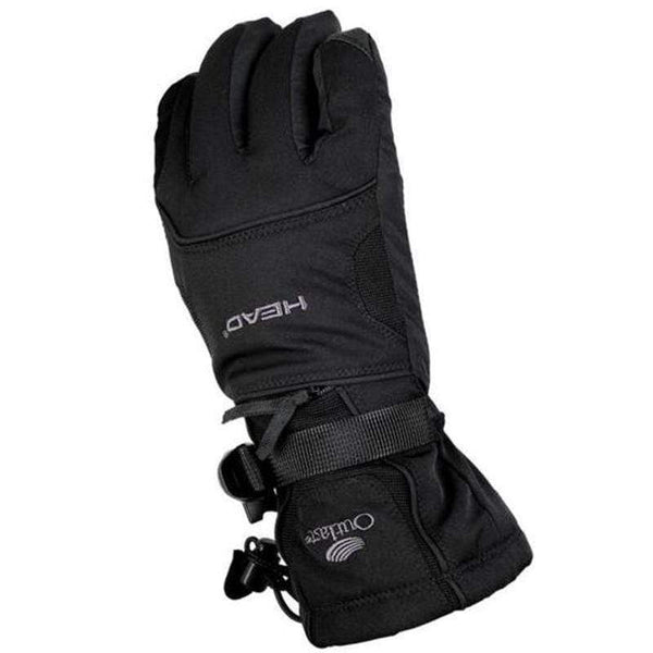 Head Oh40 Termal Snow Gloves M-SNOW GLOVES-SNOW SPORTS-black-M-Helm Zone