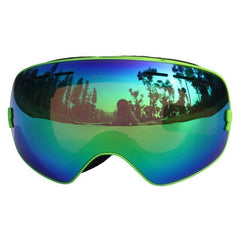 Locle S-3100 Uv400 Double Lens Snow Goggles-SNOW GOGGLES-EYEWEAR-Helm Zone