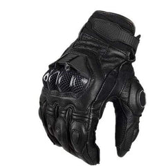 Furygan Afs6 Breathable Genuine Leather Motorcycle Racing Gloves-STREET GLOVES-STREET-Black-M-Helm Zone