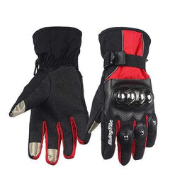 Riding Hx-04 Tribe Motorcycle Gloves-STREET GLOVES-STREET-Black-L-Helm Zone