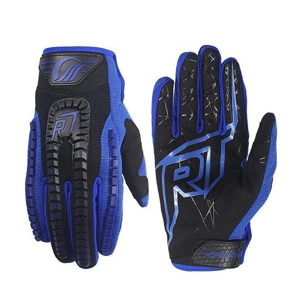 Riding Tribe Ce12 Motorcycle Gloves-STREET GLOVES-STREET-Blue-L-Helm Zone