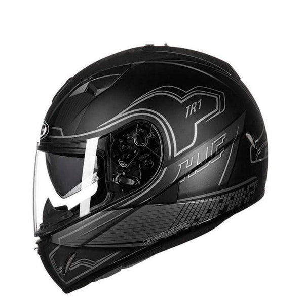 Hjc Tr-1 Full Face Motorcycle Helmets with Double Lens-STREET HELMETS-STREET-NITO MC5SF-L-Helm Zone