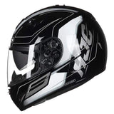 Hjc Tr-1 Full Face Motorcycle Helmets with Double Lens-STREET HELMETS-STREET-SKYRIDE MC5-L-Helm Zone