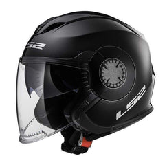 Ls2 Of570 Verso 3/4 Open Face Scooter Motorcycle Helmets with Sun Shield-STREET HELMETS-STREET-Helm Zone