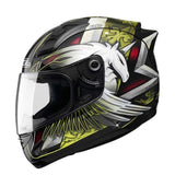 Sol 68 S11 Full Face Motorcycle Helmets-STREET HELMETS-STREET-Blacak Yellow-S-Helm Zone
