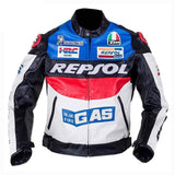Duhan Repsol Vs02 Moto Gp Racing Jackets-STREET JACKETS-STREET-Blue-M-Helm Zone