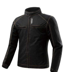 Scoyco Jk49 Motorcycle Jacket with 5 Protective Pads-STREET JACKETS-STREET-Black-L-Helm Zone