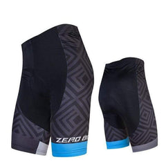 Zerobike Zrobmb Men's 4 D Gel Padded Cycling Shorts-TRIATHLON SHORTS-TRIATHLON-BLUE-L-Helm Zone