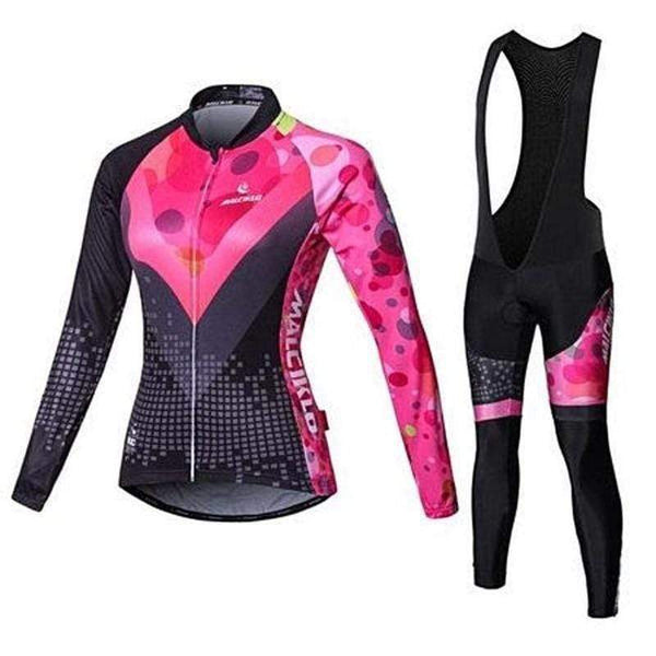 Malciklo Qcw0816 a Cycling Suits for Women-TRIATHLON SUITS-TRIATHLON-Jersey and BIB Pants 5-S-Helm Zone