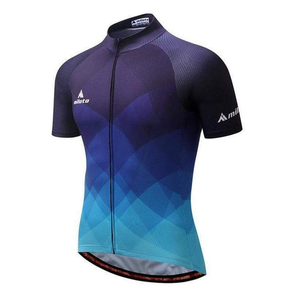 Miloto Cc8045 Quick Dry Cycling Jersey for Men-TRIATHLON TOPS-TRIATHLON-1-4XL-Helm Zone