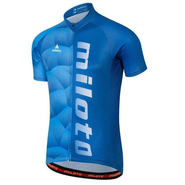 Miloto Cc8045 Quick Dry Cycling Jersey for Men-TRIATHLON TOPS-TRIATHLON-6-4XL-Helm Zone