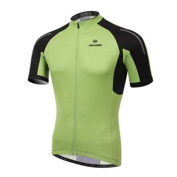 Xintown Zdx003 Triathlon Top for Men-TRIATHLON TOPS-TRIATHLON-Green-S-Helm Zone