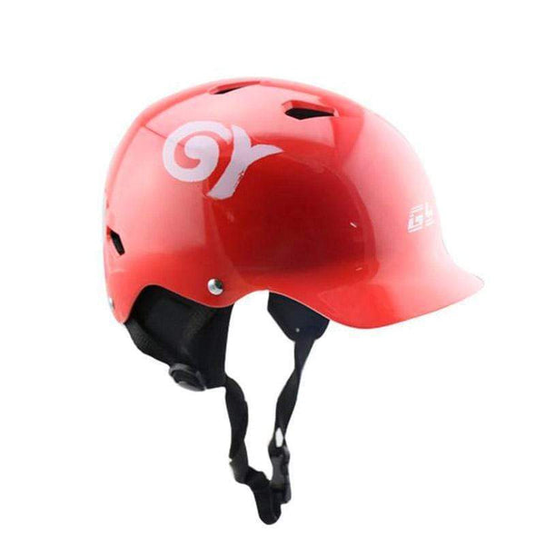 Gy Sports Wh128 Water Helmets-WATER HELMETS-WATER SPORTS-Red-L-Helm Zone