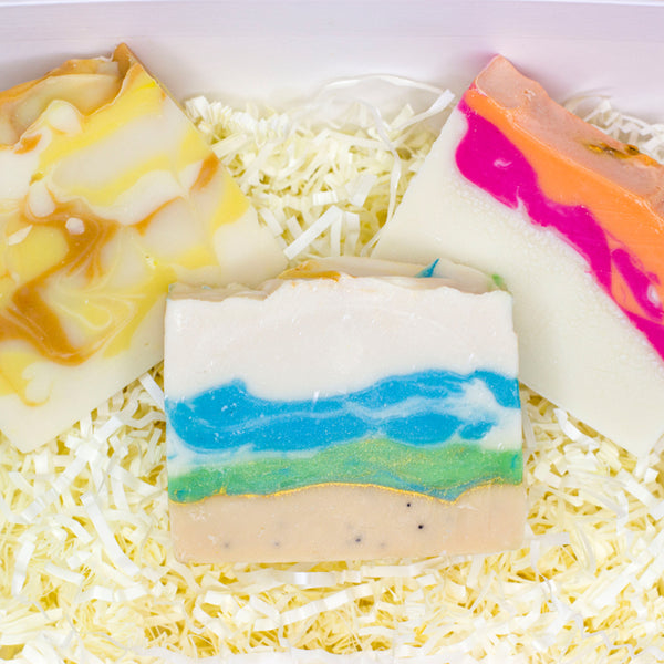 Best Selling CBD Natural Soaps (10mg CBD) - 3 Pack