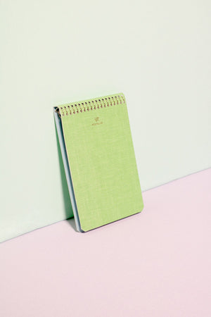 Notebook, Apple Green