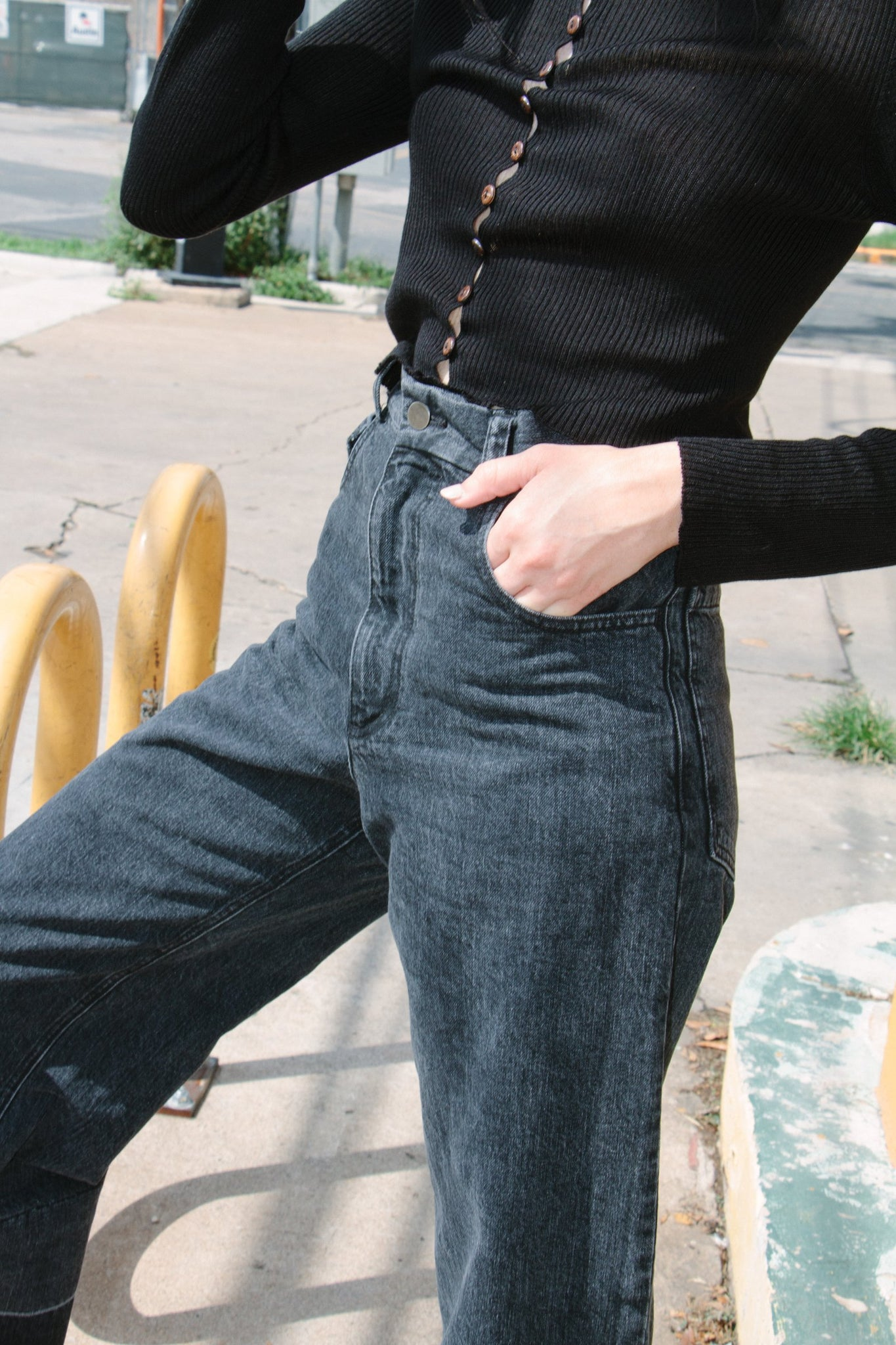 Legion Pant, Washed Black