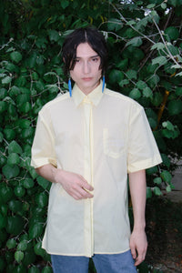 Short Sleeve Shirt, Yellow