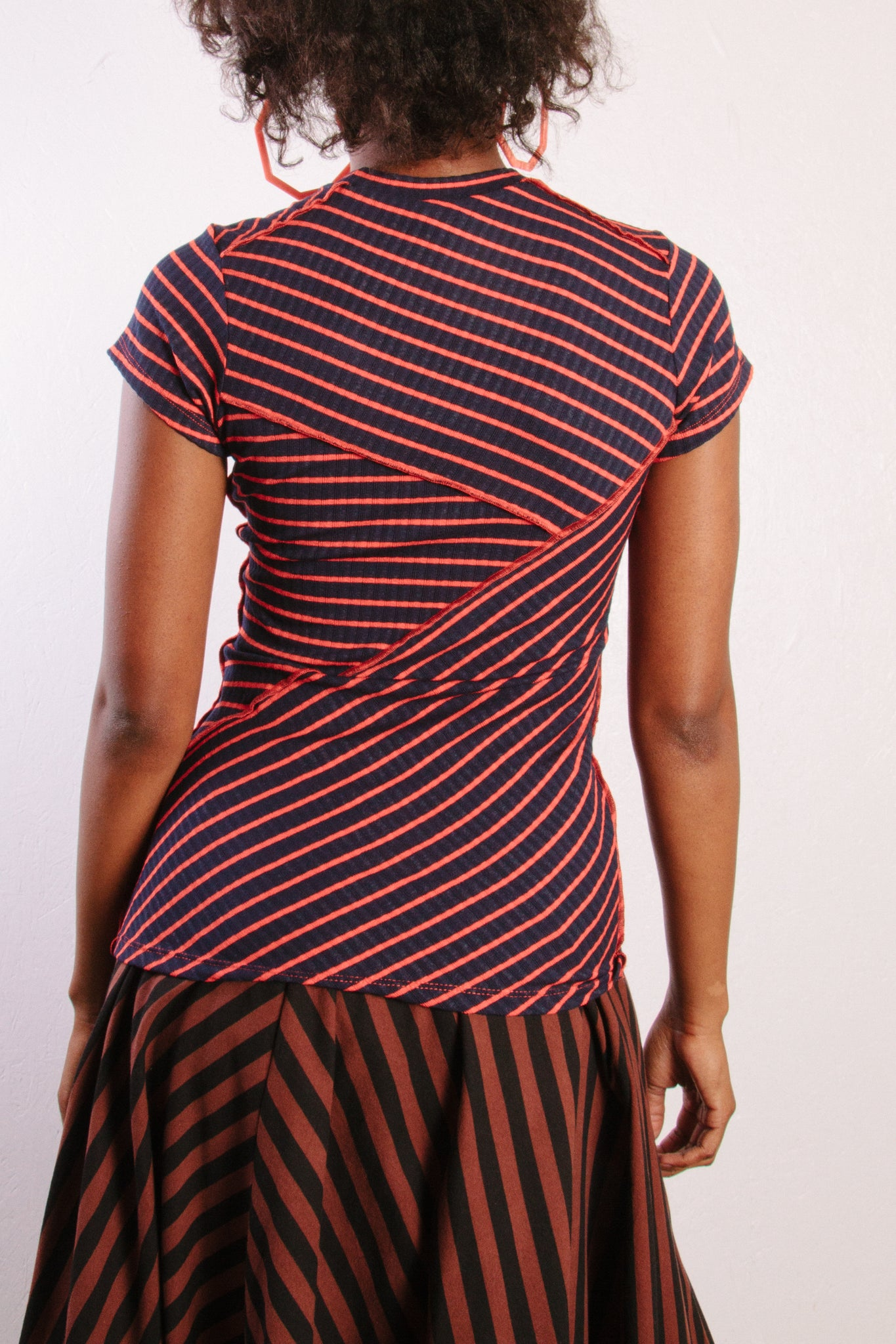Patch Tee, Stripe